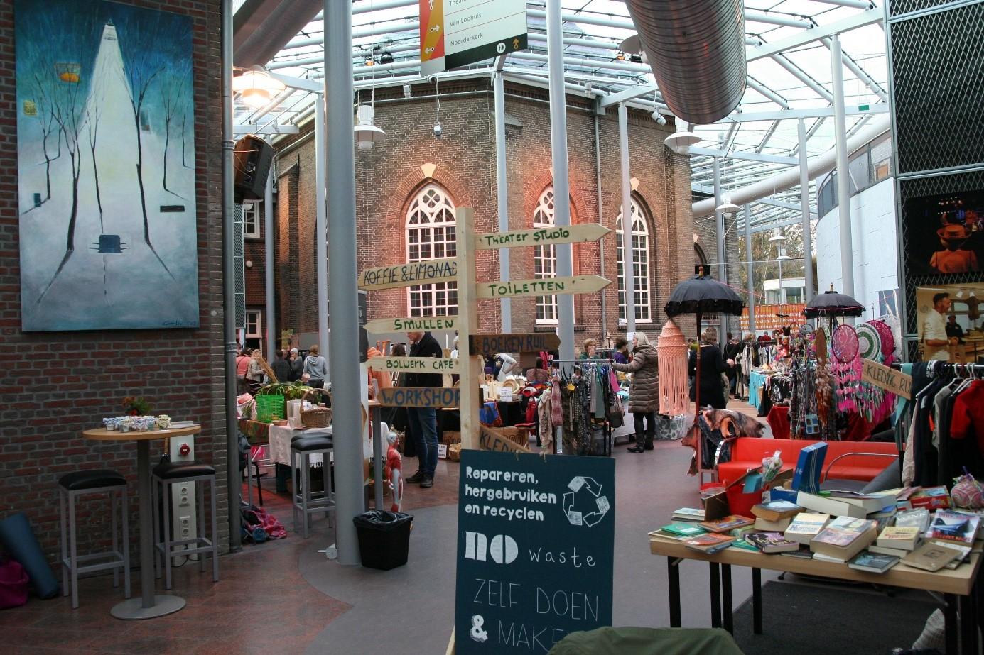 Atrium, Bouwdirect